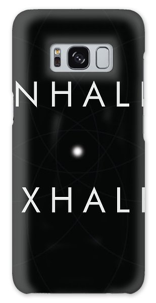 Breathe Galaxy Case - Inhale Exhale by Studio Grafiikka
