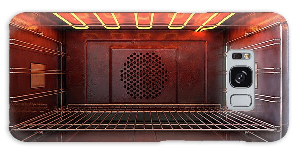 Shelves Galaxy Case - Inside The Oven Front by Allan Swart