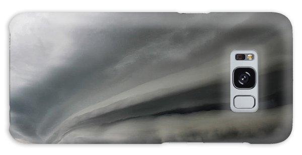 Intense Shelf Cloud Galaxy Case by Ryan Crouse