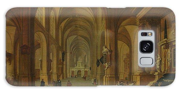 Place Of Worship Galaxy Case - Interior Of A Church by Bartholomeus van Bassen