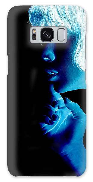 Pop Art Galaxy Case - Inverted Realities - Blue  by Serge Averbukh