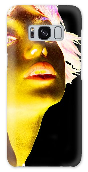 Pop Art Galaxy Case - Inverted Realities - Yellow  by Serge Averbukh