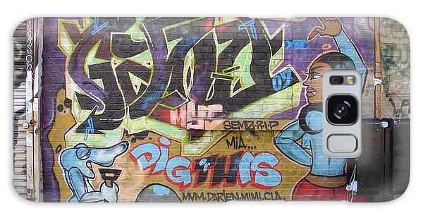 Inwood Graffiti  Galaxy Case