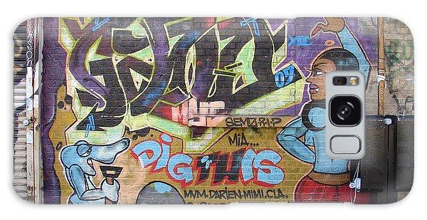 Inwood Graffiti  Galaxy Case by Cole Thompson