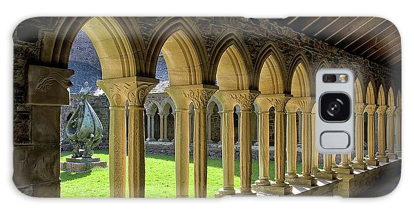Iona Abbey Scotland Galaxy Case by Jacqi Elmslie