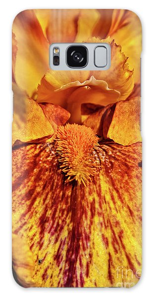 Iris Macro Galaxy Case by Robert Bales