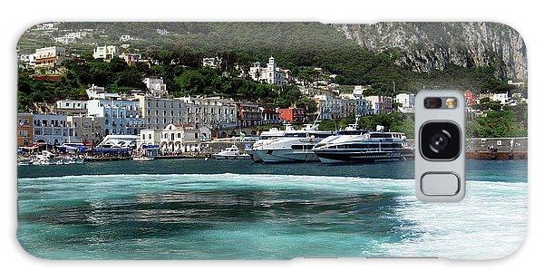 Isle Of Capri - Harbor Galaxy Case