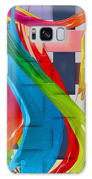 Pop Art Galaxy Case - It's A Virgo - The End Of Summer  by Serge Averbukh