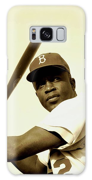 Brooklyn Dodgers Galaxy Case - Jackie Robinson 1952 by Mountain Dreams