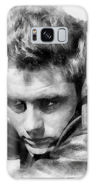 James Dean By John Springfield Galaxy Case by John Springfield