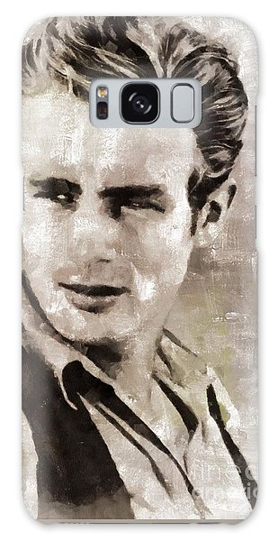 James Dean Hollywood Legend Galaxy Case by Mary Bassett