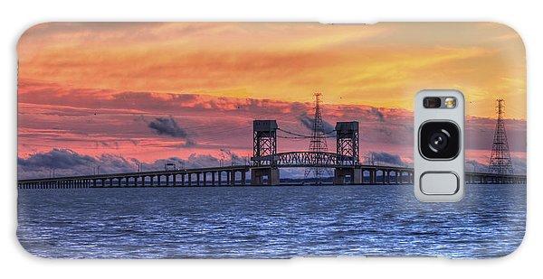 James River Bridge Galaxy Case by Jerry Gammon