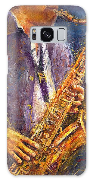 Jazz Saxophonist Galaxy S8 Case