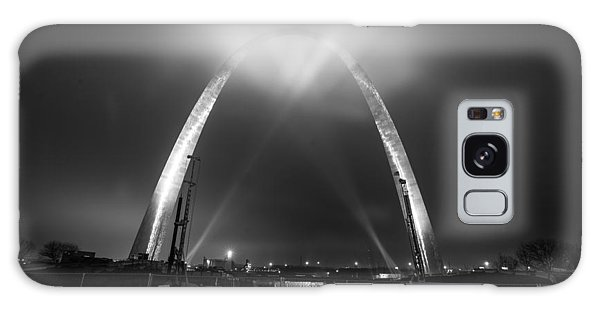 Galaxy Case featuring the photograph Jefferson Expansion Memorial Gateway Arch by Matthew Chapman