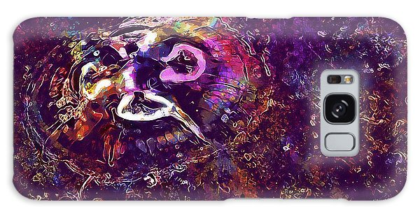 Galaxy Case featuring the digital art Jellyfish North Sea Beach Mollusk  by PixBreak Art