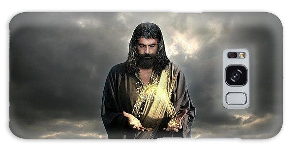 Jesus Christ- Look I Am Coming Soon Galaxy Case