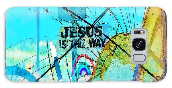 Jesus Is The Way Galaxy Case