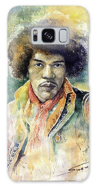 Portret Galaxy Case - Jimi Hendrix 06 by Yuriy Shevchuk