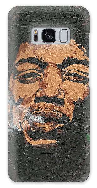 Jimi Hendrix Galaxy Case by Rachel Natalie Rawlins