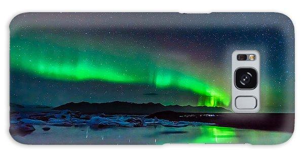 Jokulsarlon Aurora Galaxy Case