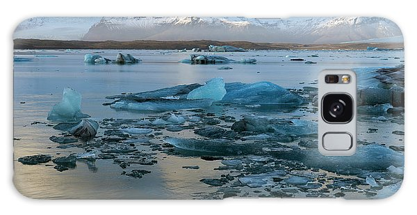 Galaxy Case featuring the photograph Jokulsarlon, The Glacier Lagoon, Iceland 5 by Dubi Roman
