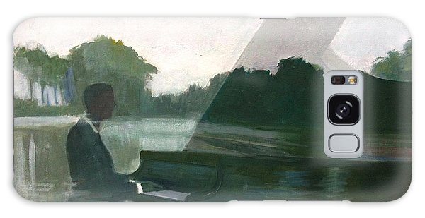Justin Levitt Steinway Piano Spreckles Lake Galaxy Case
