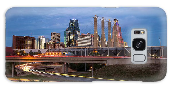 Kansas City Skyline Galaxy Case