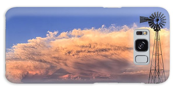 Kansas Storm And Windmill Galaxy Case