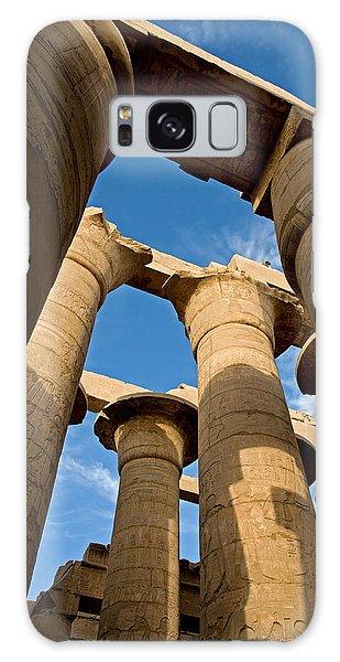 Karnak Temple Great Hypostyle Hall Galaxy Case