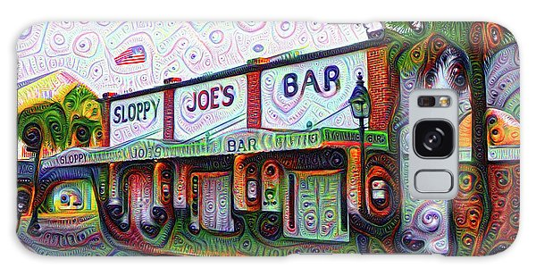 Key West Florida Sloppy Joes Bar Galaxy Case by Bill Cannon
