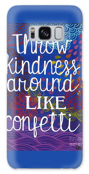Galaxy Case featuring the painting Kindness by Carla Bank
