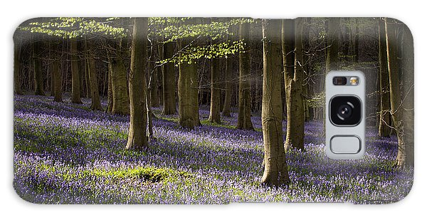 Bluebell Galaxy Case - Kingswood Bluebells by Ian Hufton