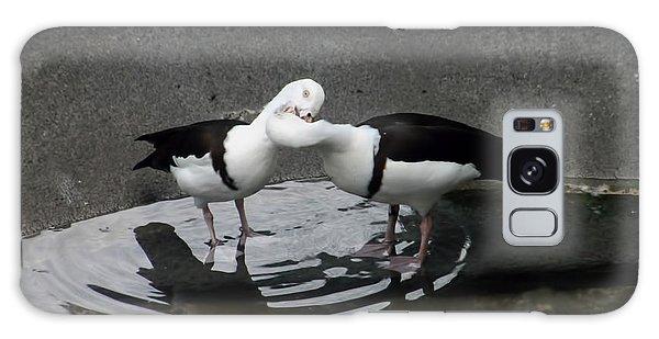Kissing Ducks Galaxy Case