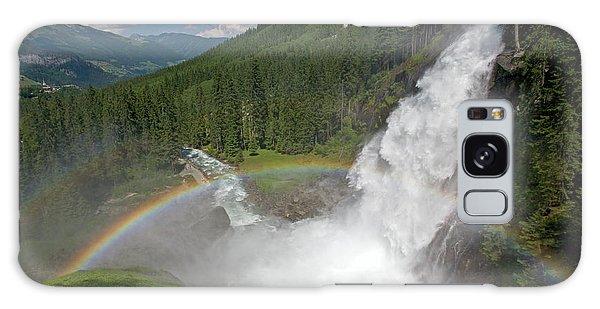 Krimml Waterfall And Rainbow Galaxy Case
