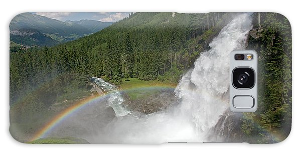 Krimml Waterfall And Rainbow Galaxy Case
