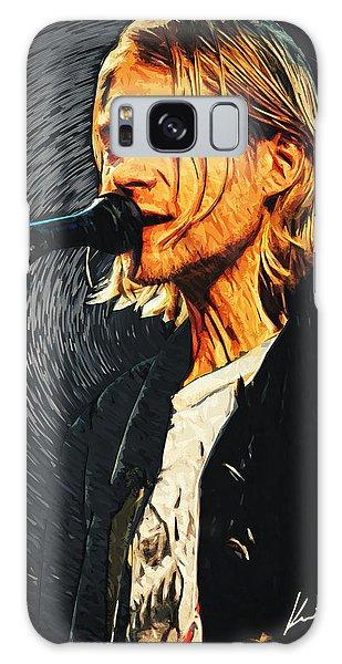 Kurt Cobain Galaxy Case by Taylan Apukovska