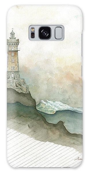 Lighthouse Galaxy Case - La Vieille Lighthouse by Juan Bosco