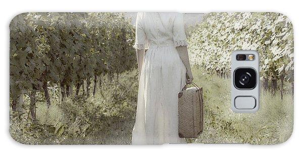 Woman Galaxy Case - Lady In Vineyard by Joana Kruse