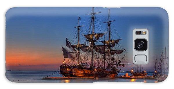 Lafayette's Hermione Voyage 2015 Galaxy Case