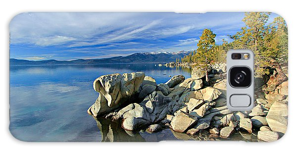Lake Tahoe Rocks Galaxy Case