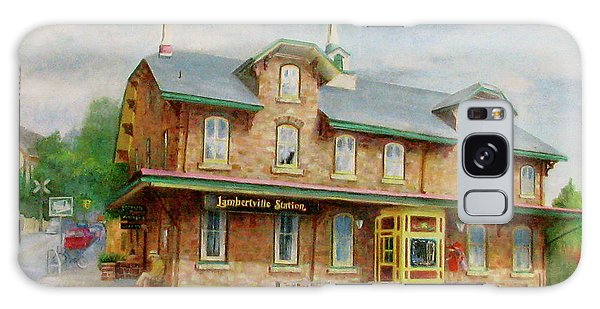 Lambertville Inn Galaxy Case by Oz Freedgood