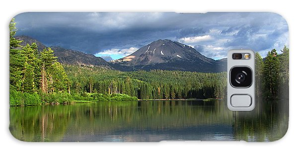 Lassen Peak  Galaxy Case by Irina Hays