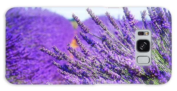 Lavender Field Galaxy Case