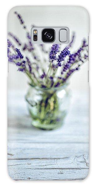 Herbs Galaxy Case - Lavender Still Life by Nailia Schwarz