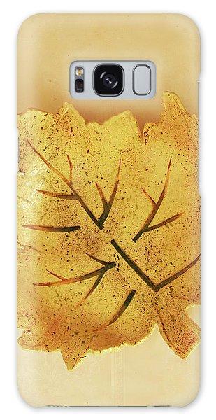 Leaf Plate2 Galaxy Case by Itzhak Richter