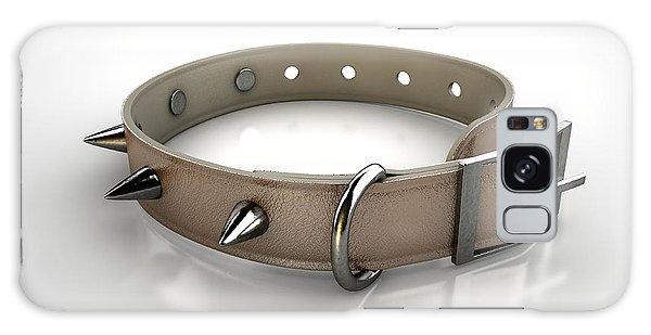 Leash Galaxy Case - Leather Studded Collar by Allan Swart