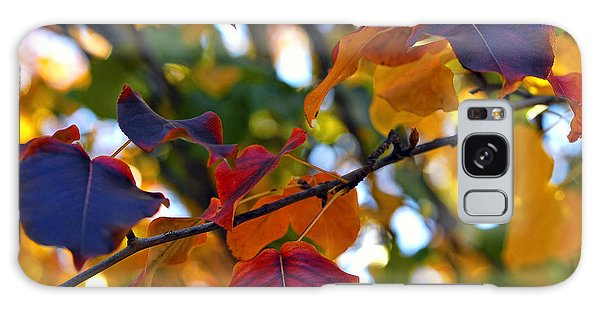 Leaves Of Autumn Galaxy Case by Stephen Anderson