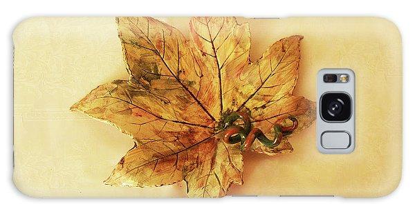Leaf Plate1 Galaxy Case by Itzhak Richter