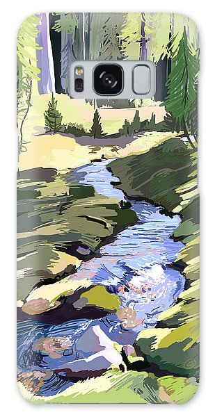 Lena Peak Stream Galaxy Case