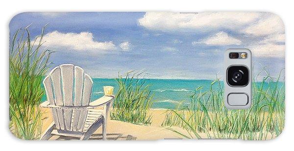 Adirondack Chair Galaxy Case - Life Is A Beach by Diane Diederich